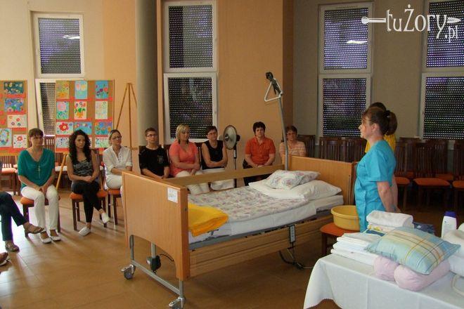 W żorskim hospicjum pomaga ponad 30 wolontariuszy medycznych