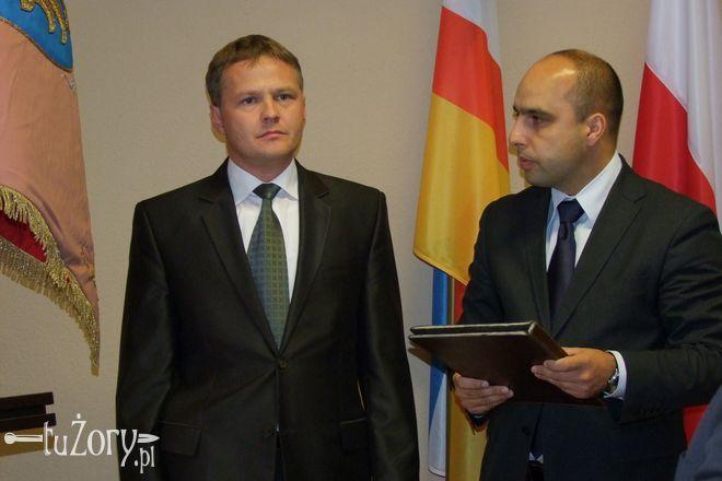 Nowy radny złożył uroczyste ślubowanie podczas sesji Rady Miasta 10 października.