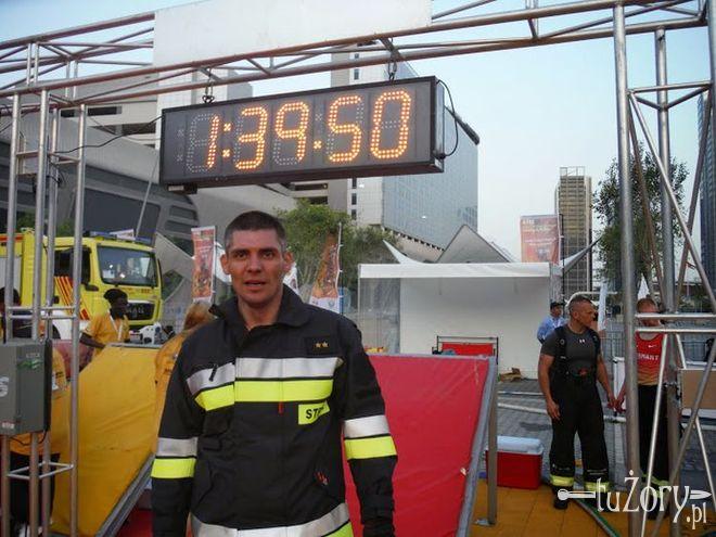 Najtwardszy strażak w Polsce pracuje w Żorach, archiwum