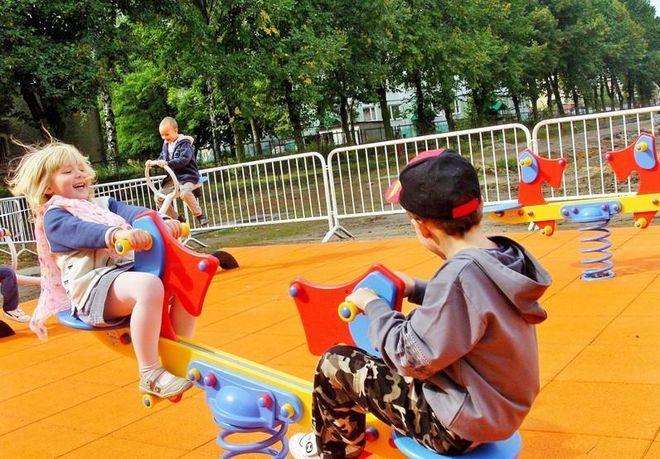 Żory pierwsze w wyścigu po nowoczesne place zabaw, źródło: UM Żory