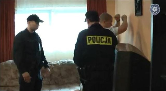 Żorscy policjanci podczas jednego z zadań