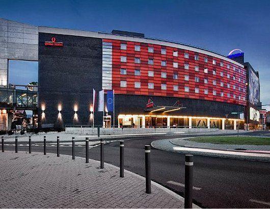 Na Śląsku znajdują się 3 hotele sieci Qubus Hotel.