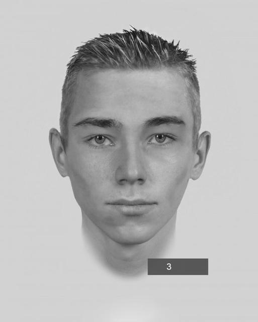 Portret pamięciowy włamywacza z Centralnej. Znacie tego człowieka?, Policja