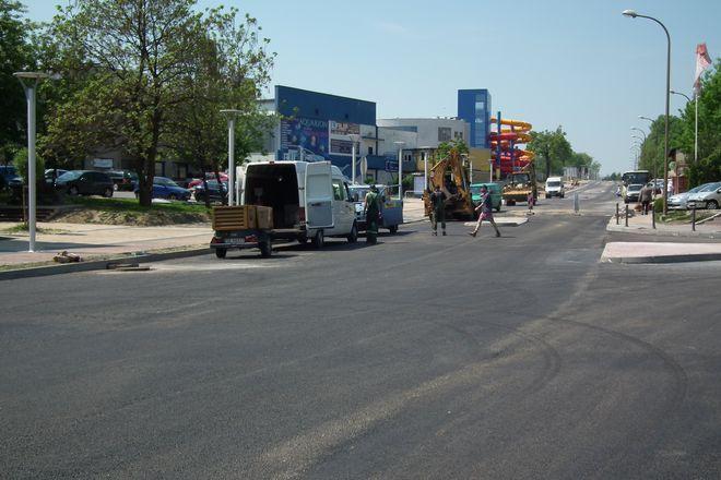 Przebudowa ulicy Wodzisławskiej zaczęła się w ubiegłym roku