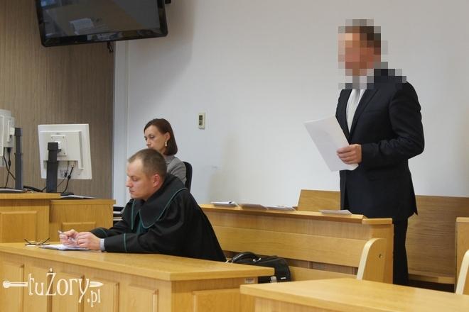 W. Socha w sądzie stawił się z Jackiem Błachutem, jednym ze swoich trzech obrońców
