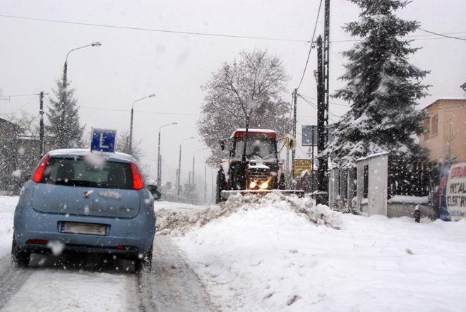 Dziś prognozowana jest gołoledź. Warunki na drogach będą trudne.