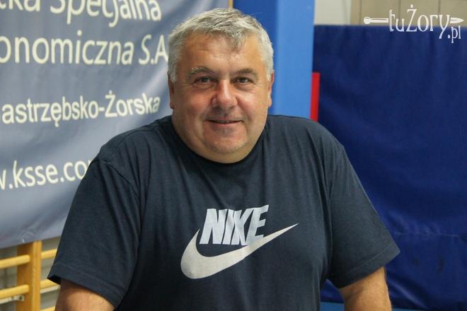 Trener Mirosław Szczurek